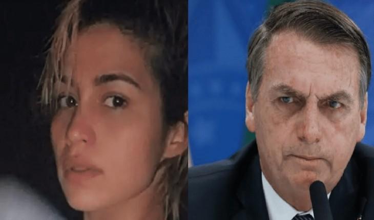 Nanda Costa protesta contra Bolsonaro fazendo necessidades (2), mas sofre duro castigo.