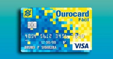 Cartão de crédito sem anuidade Ourocard BB.
